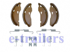 TRAILER BRAKE SHOES 160x35 Caravan Brian James - ALKO type for 1637 1635 1636 &G